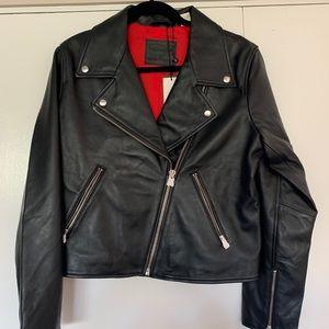 NWT Black Levis Leather Jacket